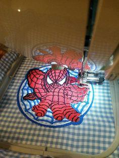 Spider-Man My Hero machine embroidery design