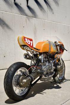 "Cafe Racer Pasión — Brutal! BMW R80 ST CafeRacer ""Daytona"" by XTR..."