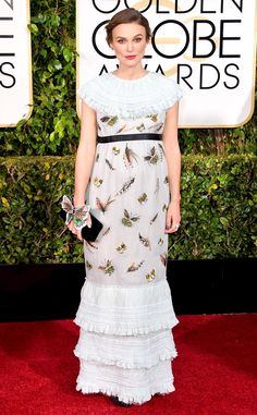 Keira Knightley from Riskiest Golden Globes Looks Ever | E! Online