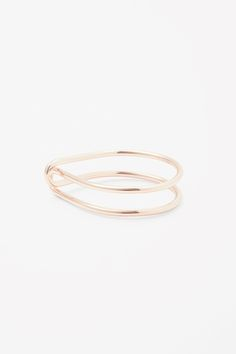 COS image 1 of Looped bangle in Rose Gold