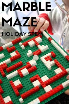 LEGO Marble Maze For Kids To Make