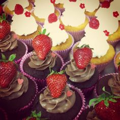 Vaniglia & Co.'s cupcakes.