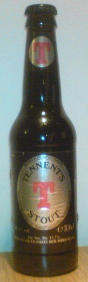 Tennent Caledonian Brewery - Tennent's stout 6,0% pullo