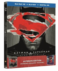 Batman V Superman - Dawn of Justice (hmv Exclusive) Ultimate Edition Steelbook I really enjoyed the 3D version 5*****
