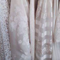 TEXTURES at the #NewYork Bridal Fashion Week with @zawadzky_ @makisposada @the_wedding_inspirations