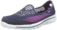 Skechers Performance Women's Go Walk 2 Super Breathe Walking Shoe *** You can find out more details at the link of the image. Mature Women Fashion, Womens Fashion, Sketchers Shoes, Skechers Performance, Walking Shoes, Beauty Routines, Navy And White, Shoe Bag, Stylish