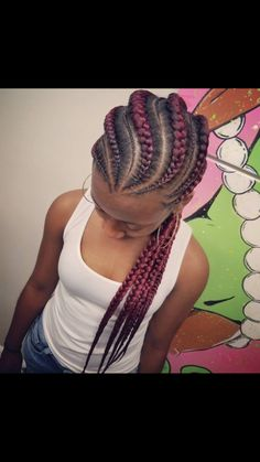 Donu0027t Know What To Do With Your Hair: Check Out This Trendy Ghana Braided  Hairstyle