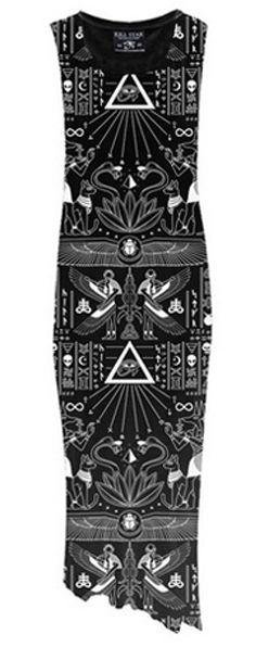 Magick Maxi Dress from Killstar