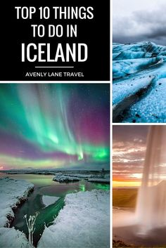 The Top 10 Things To See In Iceland! The Crystal Caves in Iceland are a definite MUST see! Click through to see more of the TOP things you need to do in Iceland!