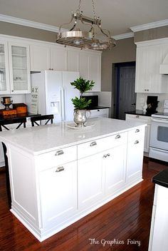 Kitchen Island Renovations kitchen renovation reveal | kitchens, martha stewart and gift