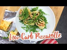 Low-Carb Pizzarolle - Essen ohne Kohlenhydrate