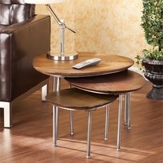 Upton Home Blakely Nesting Accent Table 3pc Set | Overstock.com Shopping - Great Deals on Upton Home Coffee, Sofa & End Tables