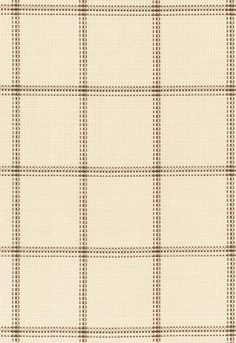 Fabric | Woodland Plaid in Sand | Schumacher