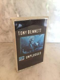 Vintage 1994 Tony Bennett MTV Unplugged Cassette Tape Vocal