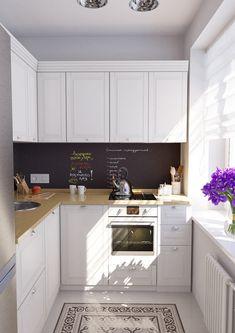 кухня в дизайне квартиры 32 кв. м.