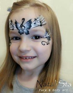 Girl Face Painting, Face Painting Designs, Body Painting, Face Paintings, Face Paint Party, Pretty Girl Face, Butterfly Face Paint, Cheek Art, Kids Makeup