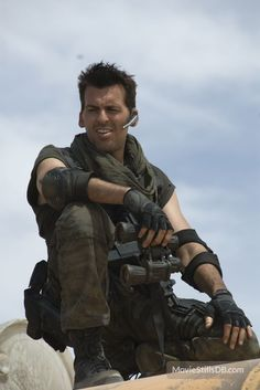 Oded Fehr (as Carlos Oliveira in Resident Evil: Extinction)