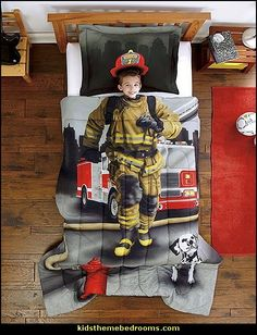 Fireman Bedding. Firefighter BedroomFirefighter BabyFireman RoomFirefighter  ...