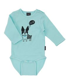 Look at this Blue Dog Long-Sleeve Bodysuit on #zulily today!