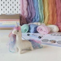 Felted Unicorn Kit