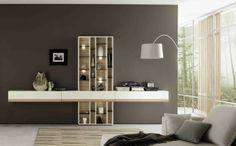 luces led mueble salon vertical