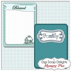 Honey Pie Bible Journal Cards 3x4 Project by DigiScrapDelights