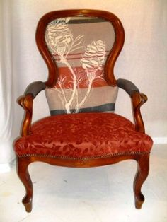 Elegant old Dutch gentleman's chair