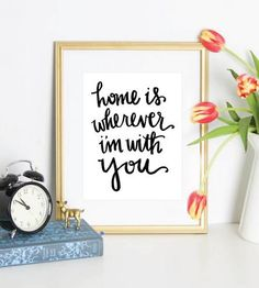 This is lovely. Yes. :: Home Art Print from Puddleduck Paper Co.