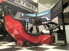 Rseat RS F1 Gaming Seat racing simulator_7