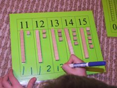 Teen Numbers Freebie and More. Great free activity!