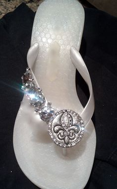 Frosty Fleur De Lis  By Flipinista, Your BFF  Registered Trademark <3