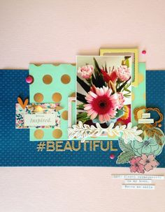 Layout by Jot Girl Anna Allan for our April Mood Board.