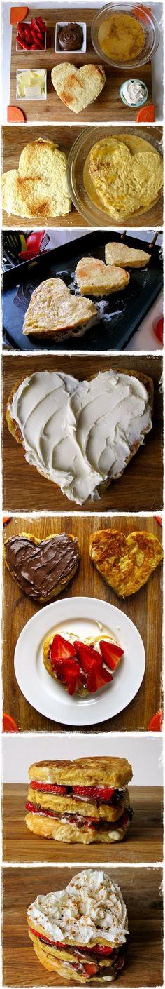 1000 cute breakfast ideas on pinterest breakfast ideas for Breakfast in bed ideas