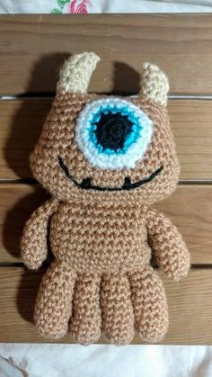 Crochet emojis pinteres little mikey large monsters inc ccuart Gallery