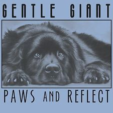 SALE! NEW Newfoundland Dog Paws & Reflect TEE- Supports Newfie Rescue Project
