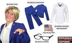 DIY Hillary Clinton Costume for #Halloween 2015!
