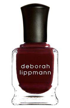 Deborah Lippmann Nail Color: http://www.stylemepretty.com/living/2015/10/10/spotted-on-saturday-50-under-50/