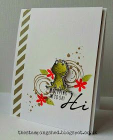 by Katy: Love You Lots (host), Swirly Bird, Acorny Thank You, In Color dsp stack - all from Stampin' Up! Scrapbooking, Scrapbook Cards, Su Swirly Scribbles, Stampin Up Karten, Stampin Up Catalog, Making Greeting Cards, Fancy Fold Cards, Stamping Up Cards, Animal Cards