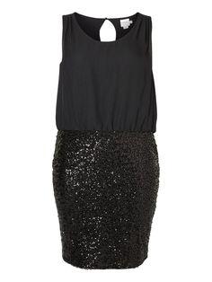 MIX DRESS, Black