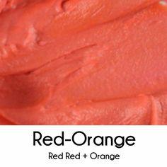 How to Make Red Orange Royal Icing