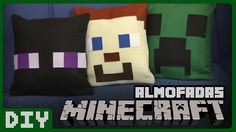 Almofadas Decorativas do Minecraft | DiY Geek