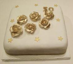 50th Wedding Anniversary 50th Wedding Anniversary, Special Occasion, Wedding Cakes, Wedding Gown Cakes, Gold Weddings, Wedding Pie Table, Wedding Cake, Cake Wedding, Wedding Pies