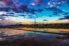 CGじゃないの!?台風の前日の空が綺麗すぎるから見てくれ | 笑うメディア クレイジー