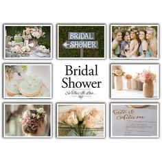 Contest Entry - Bridal Shower by mmmartha on Polyvore featuring interior, interiors, interior design, home, home decor, interior decorating, contest, wedding, contestentry and bridalshowergifts