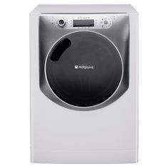 Hotpoint Aqualtis AQ113L297E Washing Machine, 11kg Wash Load, 1200 RPM Spin, A++ Energy Rating. Whit