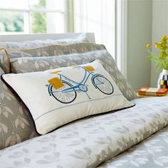 Home Accessories | Scion - Fashion-led, Stylish and Modern Fabrics and Wallpapers | Snow Drop Bedlinen