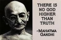 if there was one person I could meet in the whole world, I would want to meet Gandhi. soo wise :)