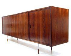 Minimalist Rosewood Sideboard By Arne Vodder For Sibast