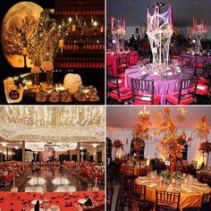 Which #Halloween #wedding decor? #home #style #glam
