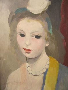 Marie Laurencin - autoportrait